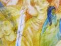 Асеево Елена. Мастер (100Х60 см, дерево, акрил, 2015)