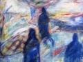 Асеево Елена. Дорога (100Х60 см, дерево, акрил, 2015)