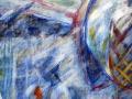 Асеево Елена. Снег (100Х60 см, дерево, акрил, 2015)